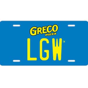 LGW Fan Club License Plate