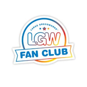 LGW Fan Club Sticker
